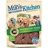 Milo's Kitchen Beef Sausage Slices with Rice Dog Treats, 18oz