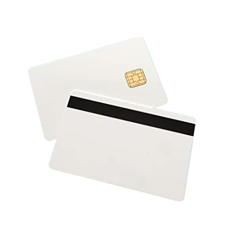 J2A040 Java JCOP Chip Cards JCOP21-40K Java Smart Card with 2 Track 8.4mm HICO Magnetic Stripe 10 Pack
