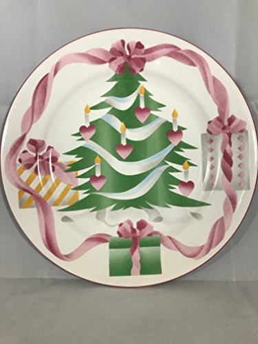 "SANGO DINNER PLATE, 10 5/8"" HOME FOR CHRISTMAS"