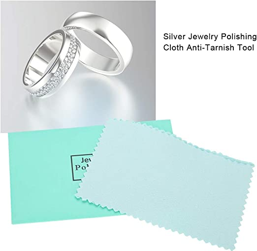 Polishing Cloth Jewelry Polishing Silver Gold Clean Tool Jewelry Cleaner