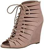 Forever 21 Women's Nude Fashion Sandals - 4 UK/India (36 EU) (6 US) (0019502102_00195021023)