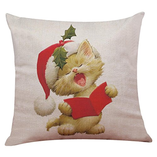Challyhope Christmas Friendly Cute Dogs and Cats Cotton