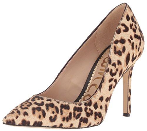 Sam Edelman Women's Hazel Pump, Sand Leopard, 7.5 M US