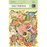 K&Company 30-598867 Susan Winget Spring Blossom Die-cut Cardstock & Acetate, Icons