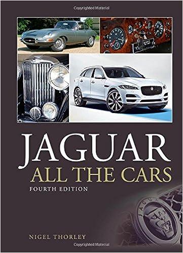 Jaguar - All The Cars por Nigel Thorley