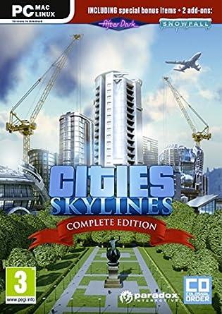 Cities Skylines Complete Edition (PC DVD) [Importación inglesa]: Amazon.es: Videojuegos