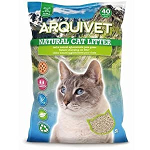 Arquivet Natural Cat Litter – Lecho Natural para Gatos – Lecho higiénico para Gatos – Lecho Biodegradable, ecológico…
