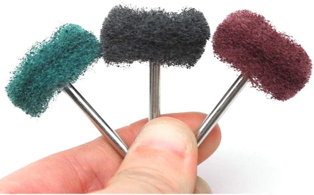 Reinigen Polieren HomeDecTime 40er set Lamellenschleifrad Schleifscheibe zum Beschichten