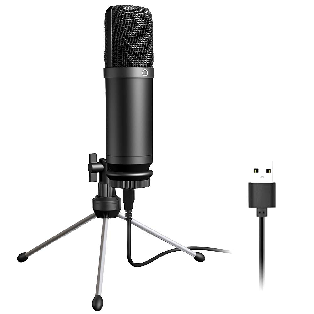 USB Microphone 192KHZ/24BIT MAONO AU-A04TR Cardioid Condenser Podcast PC Studio Mic with Professional Sound Chipset Plug & Play for Computer, livestreaming, YouTube, Gaming Recording, Voice Over by MAONO (Image #1)