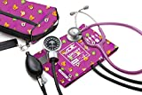 ADC Pro's Combo III Adult Pocket Aneroid/Clinician Scope Kit with Prosphyg 778 Blood Pressure Sphygmomanometer and Adscope 603 Stethoscope with Carrying Case, Animals Print