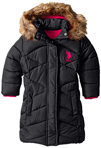 U.S. Polo Assn. Girls' Bubble Parka