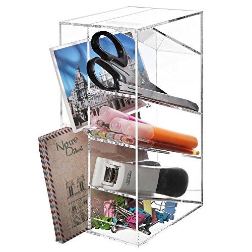 Modern Acrylic Office Desktop Organizer
