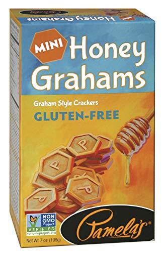 Pamela's Products Gluten Free Graham Crackers, Honey Minis, 7oz (Pack of 6) ()