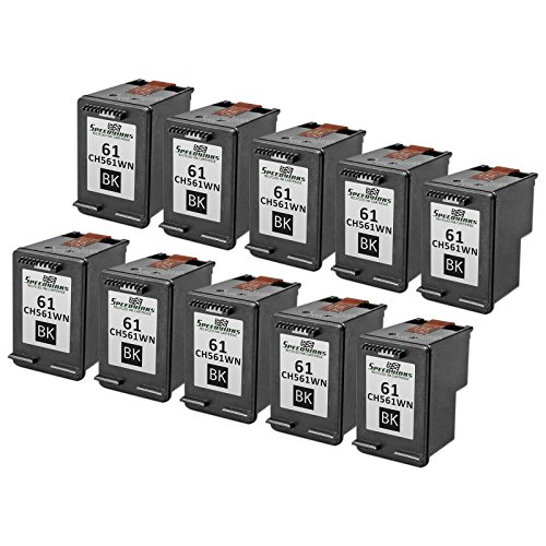 Speedy Inks - 10PK Remanufactured replacement for HP 61 C...