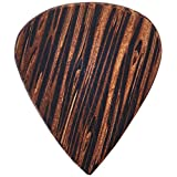 Clayton WWS/3 Exotic Wedge Wood Guitar Picks, 3-Pack