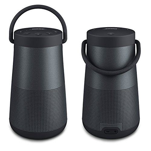 Bose SoundLink Revolve+ Bluetooth Speaker, Triple Black - Pair for a True Stereo Sound - Bundle