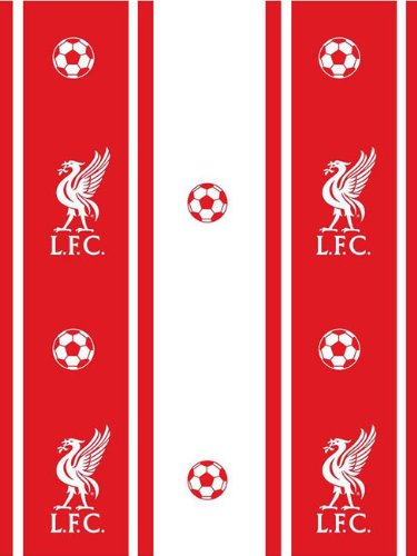 . Liverpool FC Stripe Wallpaper  Amazon co uk  Kitchen   Home