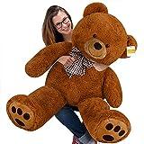 cucunu Giant Teddy Bear Brown XXL - 55 Inches Stuffed Animal - Plush Toy
