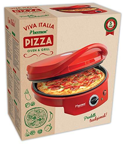 Bestron Forno elettrico per pizza con grill 7