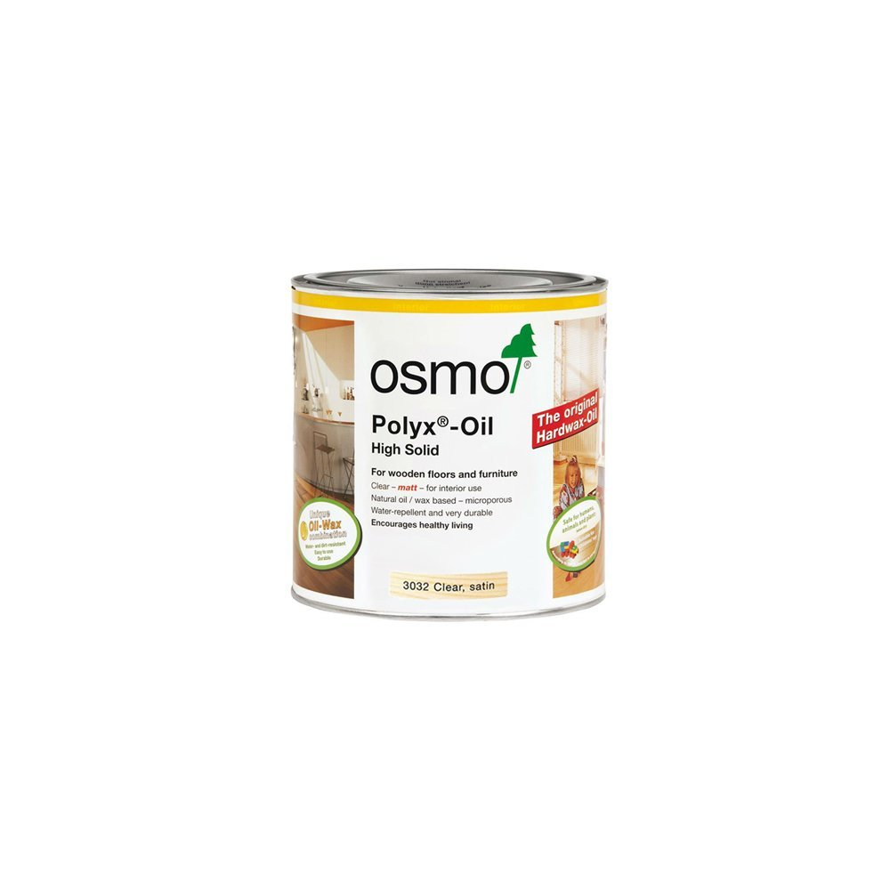Osmo 3011B 375 ml Polyx Hard wax Oil - Clear Glossy