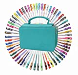 Best Gel Pen Sets - 60 Assorted Colors Gel Pen Set with 72 Review