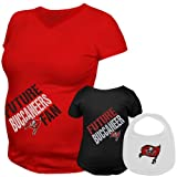 NFL Reebok Tampa Bay Buccaneers Maternity Future Player & Infant 3-Piece Set (X-Large)