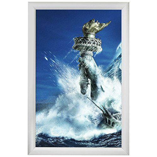 Aluminum Snap Frame for Poster 11 x 17 Inches, 25mm Profile, Color Silver