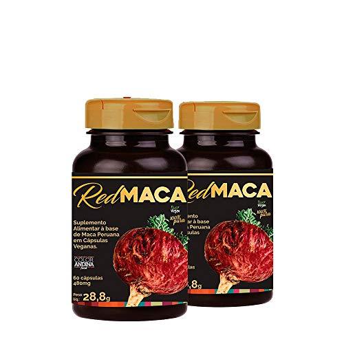 Maca Peruana Red (vermelha), Color Andina Food, Veg,120 caps