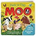 Moo: Chunky Peek a Flap Board Book