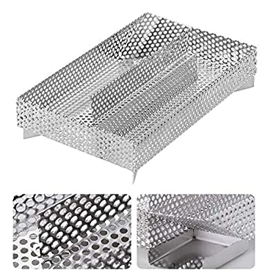 TOPINCN- Cold Smoke Generator BBQ Accessories 304 Stainless Steel Grill Cooking Tools: Sports & Outdoors
