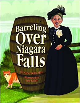 Book Barreling Over Niagara Falls