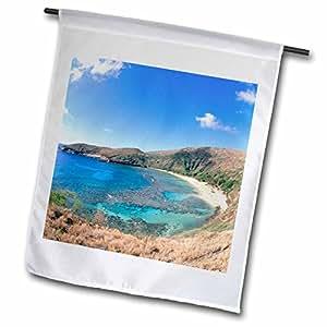Danita Delimont - Hawaii - Hanauma Bay Oahu Hawaii - US12 DPB0827 - Douglas Peebles - 18 x 27 inch Garden Flag (fl_89652_2)
