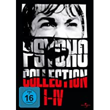 Psycho Collection I-IV [Alemania] [DVD]