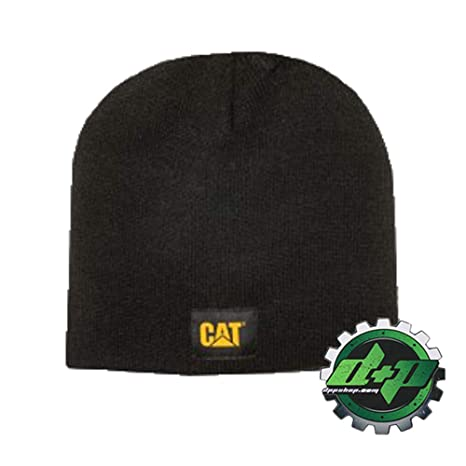 e5498e9d Image Unavailable. Image not available for. Color: Diesel Power Plus  Toddler CAT Caterpillar Beanie Stocking Cap Black w/Logo hat ...