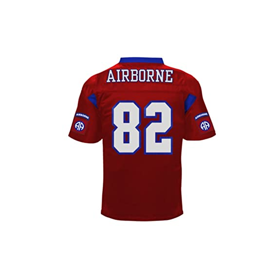Battlefield Collection 82nd Airborne Authentic Football Jersey 3X-Large  Red  Amazon.co.uk  Sports   Outdoors 4eca78b65