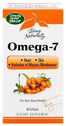 Terry Naturally Omega-7 - Superior Sea Buckthorn Oil - 60 softgels