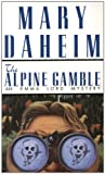Front cover for the book The Alpine Gamble by Mary Daheim
