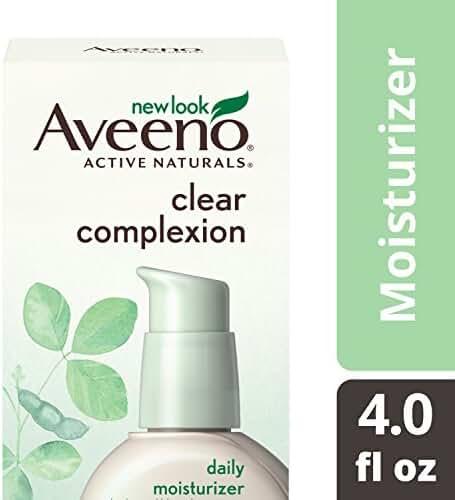 Aveeno Clear Complexion Blemish Treatment Daily Moisturizer, 4 Oz