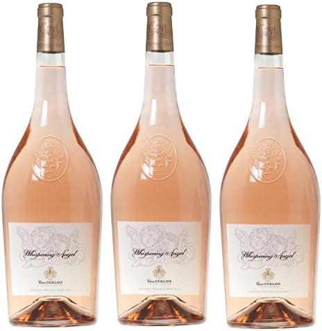 Whispering Angel Rosé 2015 Mágnum 1,5 lt.(caja 3 botellas)- Variedades Cannonau, Vermentino, Cinsault: Amazon.es: Alimentación y bebidas