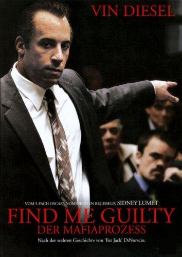 Filmcover Find Me Guilty - Der Mafiaprozess