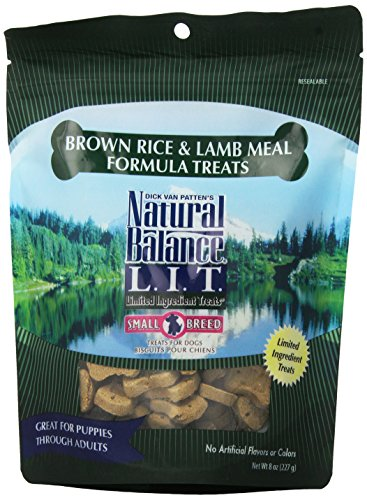 Natural Balance 236532 12-Pack Lit Lamb And Brown Rice Treat For Pets, 8-Ounce For Sale