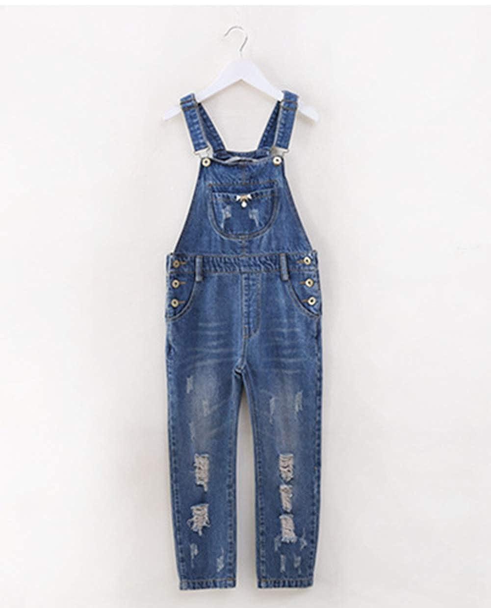 Amazon.com: Vshop-2000 - Pantalones vaqueros para niñas con ...