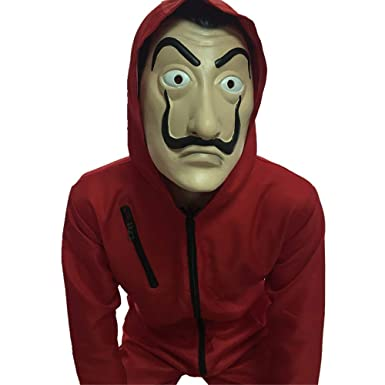 Amazon.com: Umimi Latex Dali Mask Salvador Dali Face Mask Realistic Prop Face Mask Novelty Cosplay Costume Party Mask: Clothing