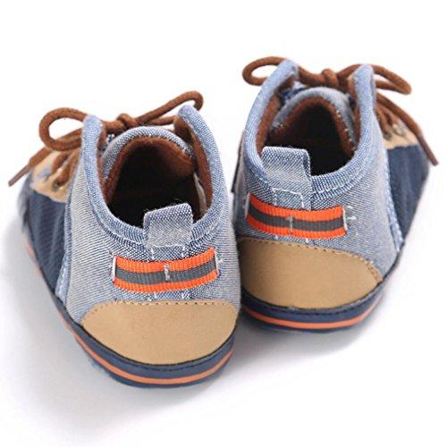 Tefamore Zapatos Botas de Bebe de Suave de Primeros caminantes Invierno Otoño marrón