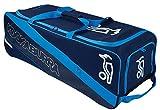 Kookaburra Pro 2000 Wheelie Bag, Navy/Cyan