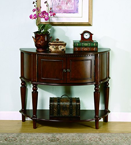 coaster-storage-entry-way-console-table-hall-table-brown-finish