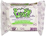 Health & Personal Care : Boogie Wipes Natural Saline Kids and Baby Nose Wipes for Cold and Flu, Unscented, 30 Count by Boogie Wipes