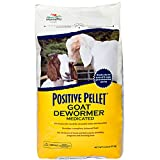 Manna Pro Positive Pellet Medicated Goat Dewormer, 6-Pounds