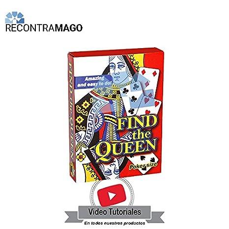 RecontraMago Magia - La Reina Perdida - Incluye VideoTutorial por Magos Profesionales - Juegos de Magia con Cartas Faciles y Divertidos