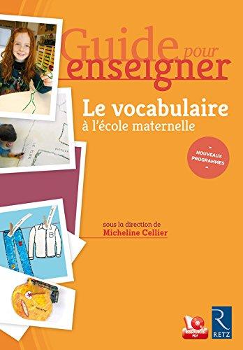 Guide pour enseigner le vocabulaire à l'école ma...